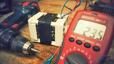 This picture shows equipment for electrical repair used by our electricians in Livermore and Pleasanton.