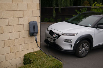 This picture shows EV Charger installers in Livermore